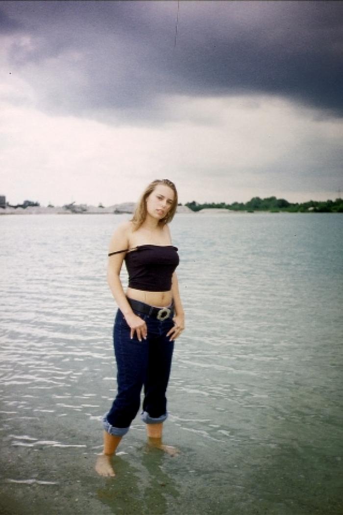 19 jährige heiße Schülerin Sabine am See