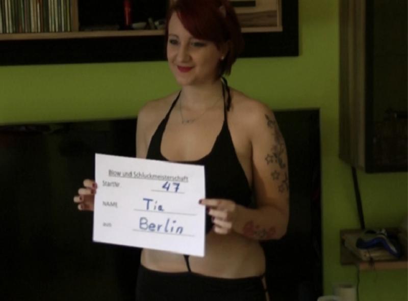 die naechste geile Kandidatin ist die Tia Bell aus Berlin
