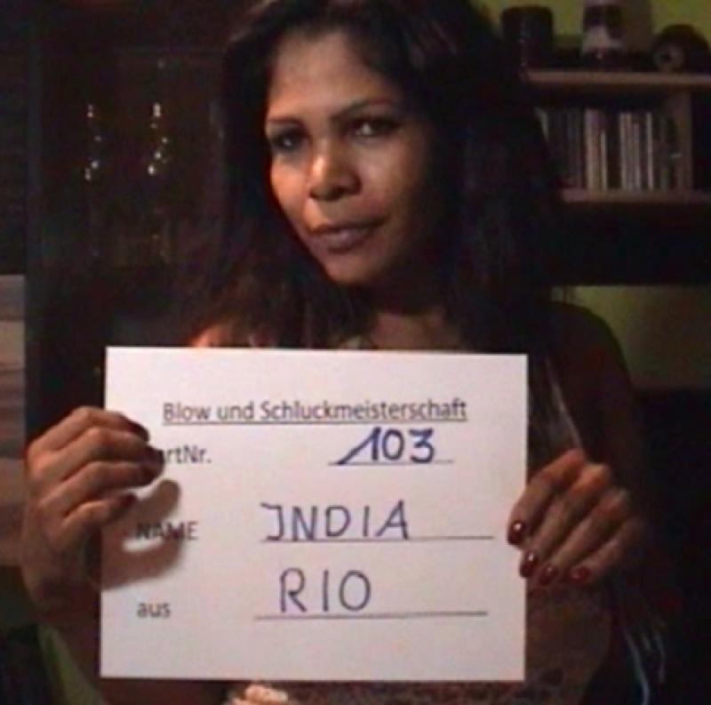 India unsere naechste geile Blow- Kandidatin